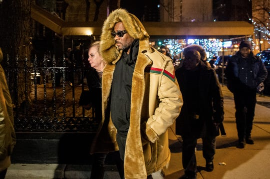 R. Kelly hit a McDonald's and a cigar bar after being released from jail Monday.