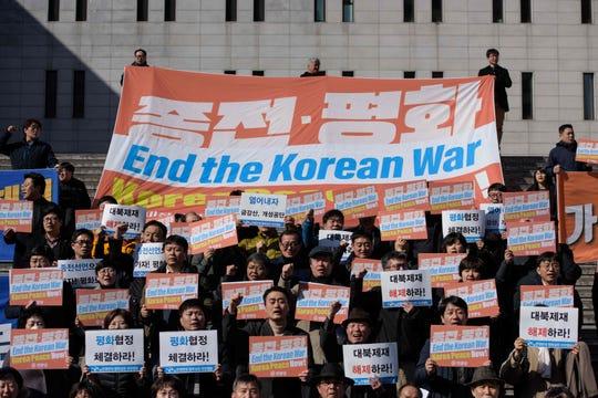 In Seoul, South Korea, on Feb. 26, 2019.