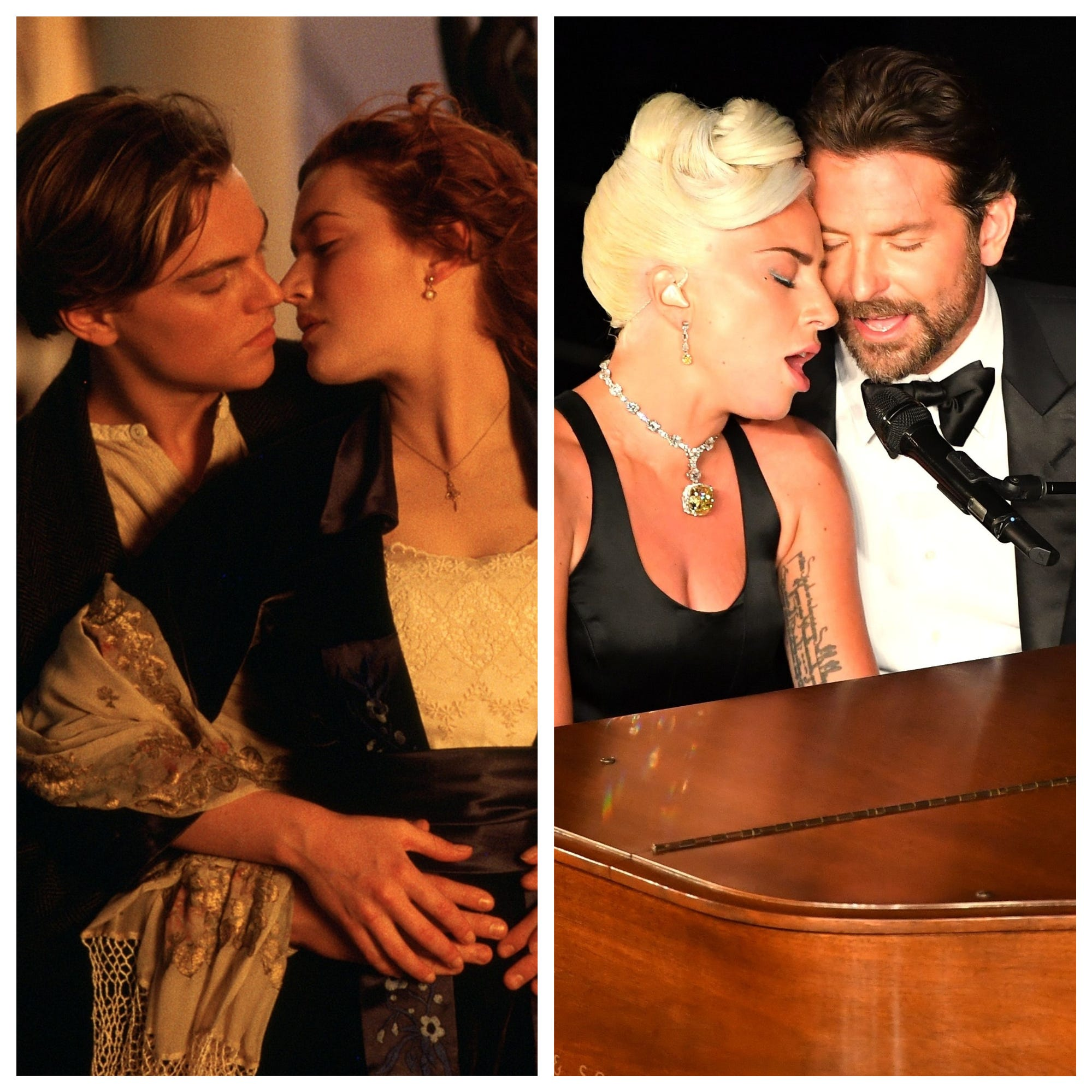 Already, Lady Gaga and Bradley Cooper's hot Oscar moment has reached Leo and Kate immortality