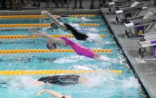 Swim Cats swimmer Linzay Taylor won two gold and two bronze medals Louisiana Swimming 12 and Under State Championships.