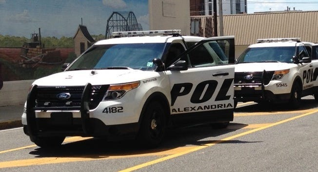 One person was shot Friday night in Alexandria, according to police.