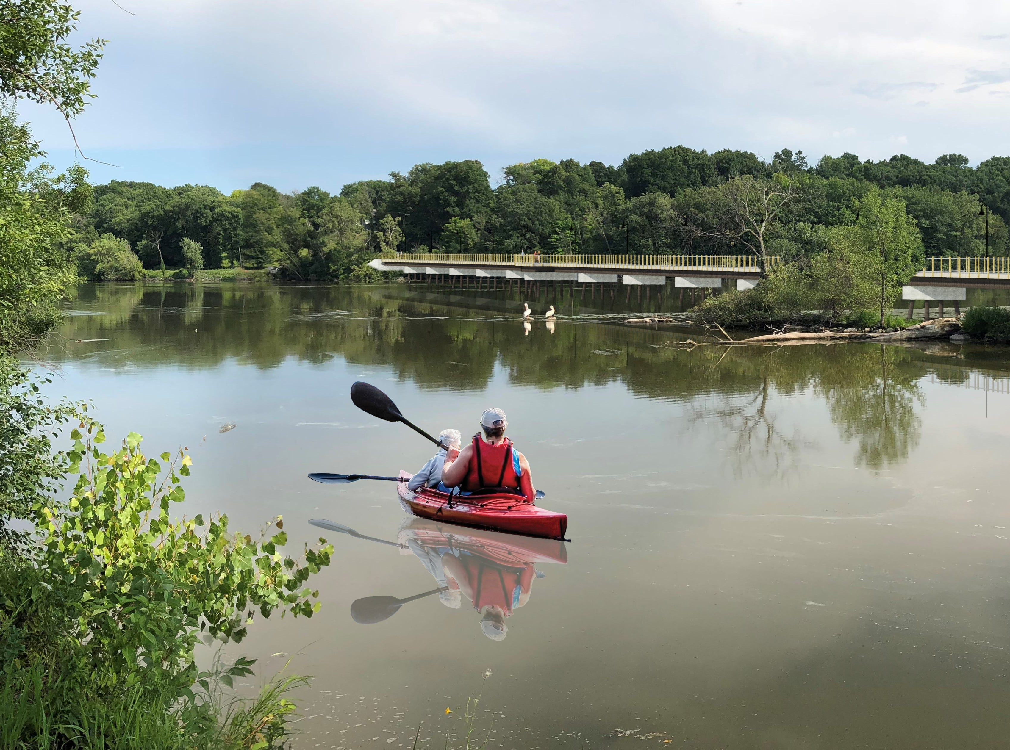 'Bridge for everyone': Kaukauna, Little Chute reach fundraising goal for Fox River Boardwalk