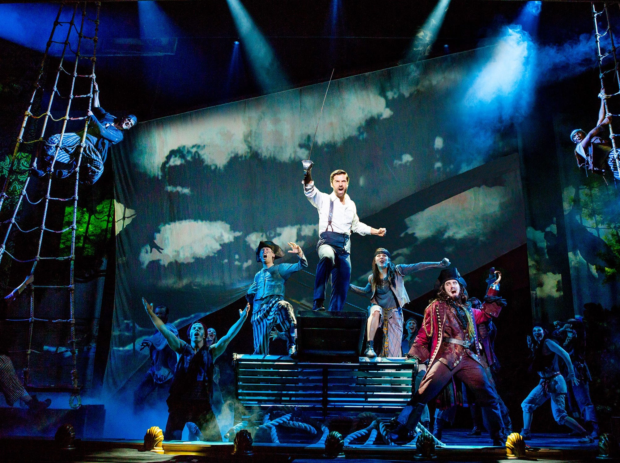 """The touring production of """"Finding Neverland"""" comes to the State Theatre on March 22 and 23."""