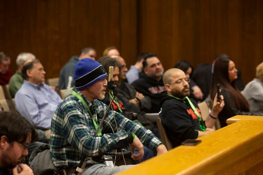 A good sized crowd attended Brick Township's Counsel meeting, partially because a proposed ban on Commercial Marijuana Sales was first introduced on February 26, 2019.