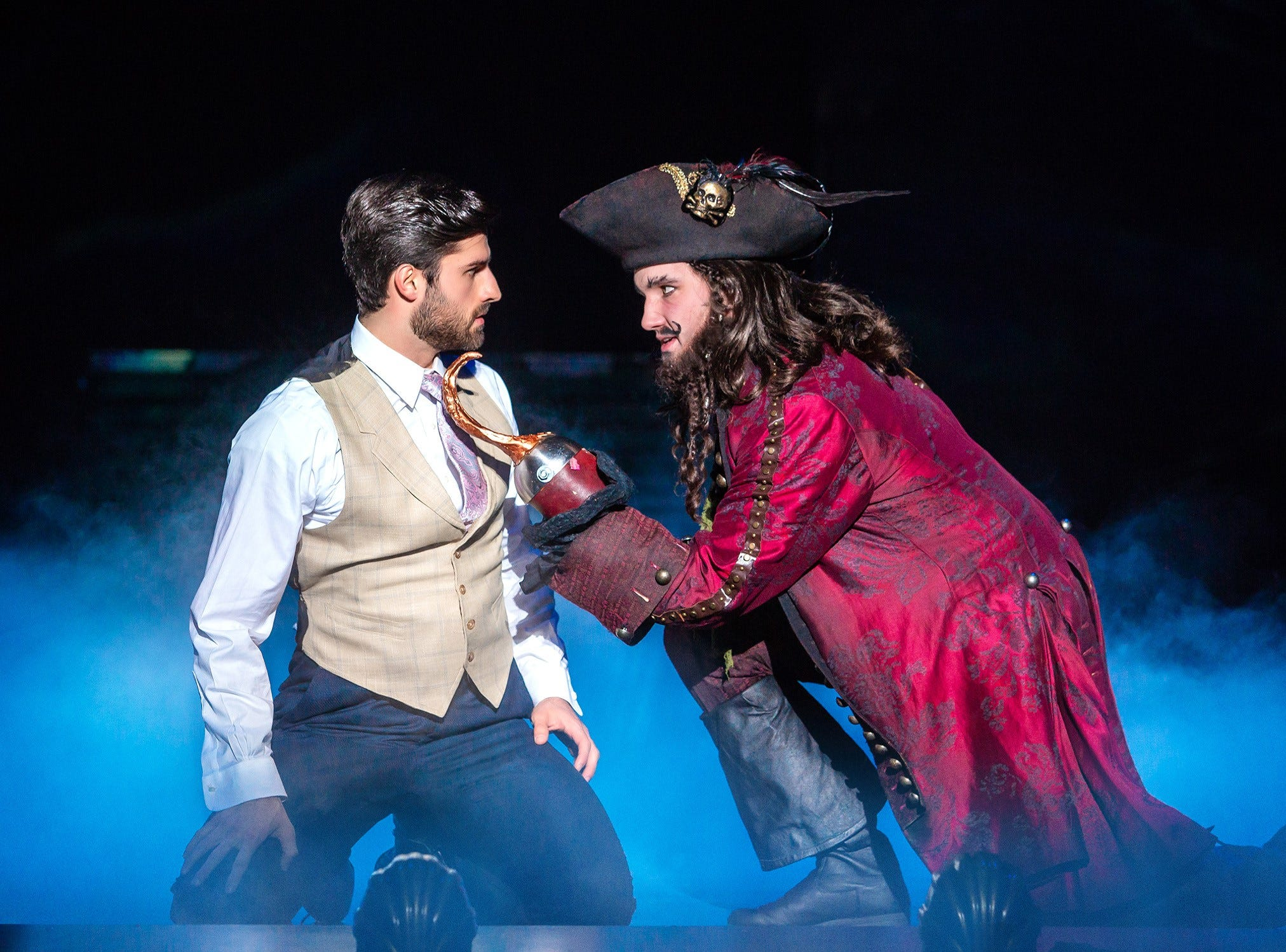"""Jeff Sullivan and Conor McGiffin in """"Finding Neverland,"""" coming to the State Theatre in New Brunswick on March 22 and 23."""