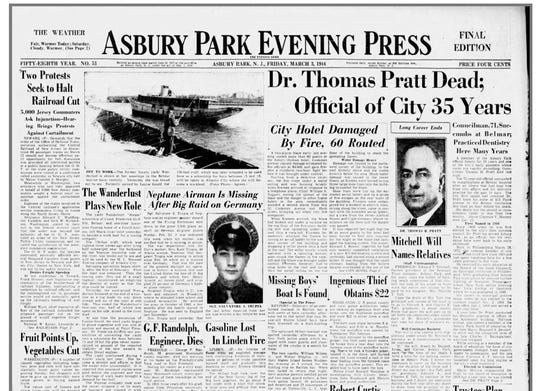Front page MARCH3, 1944