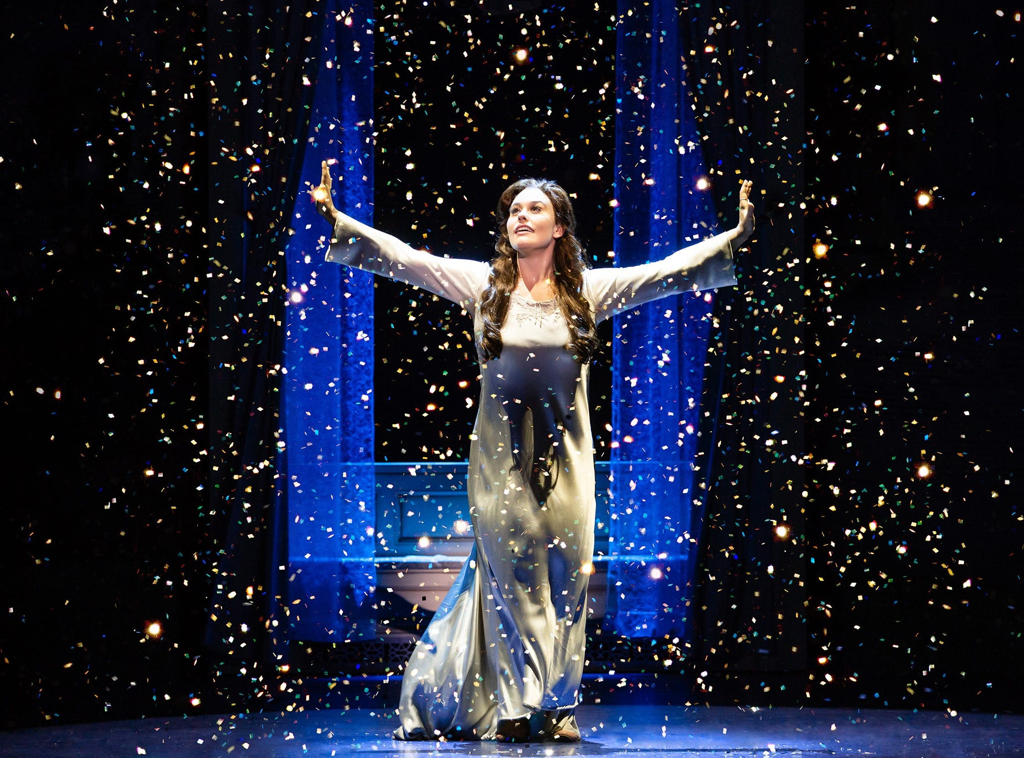 """Ruby Gibbs in """"Finding Neverland,"""" coming to the State Theatre March 22 and 23."""