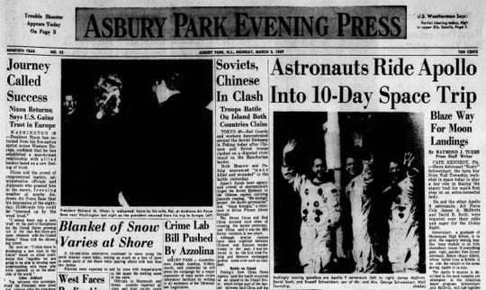 Front page March 3, 1969