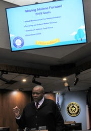 Mayor Anthony Williams talked about four goals for 2019 at his State of the City address Monday at City Hall.