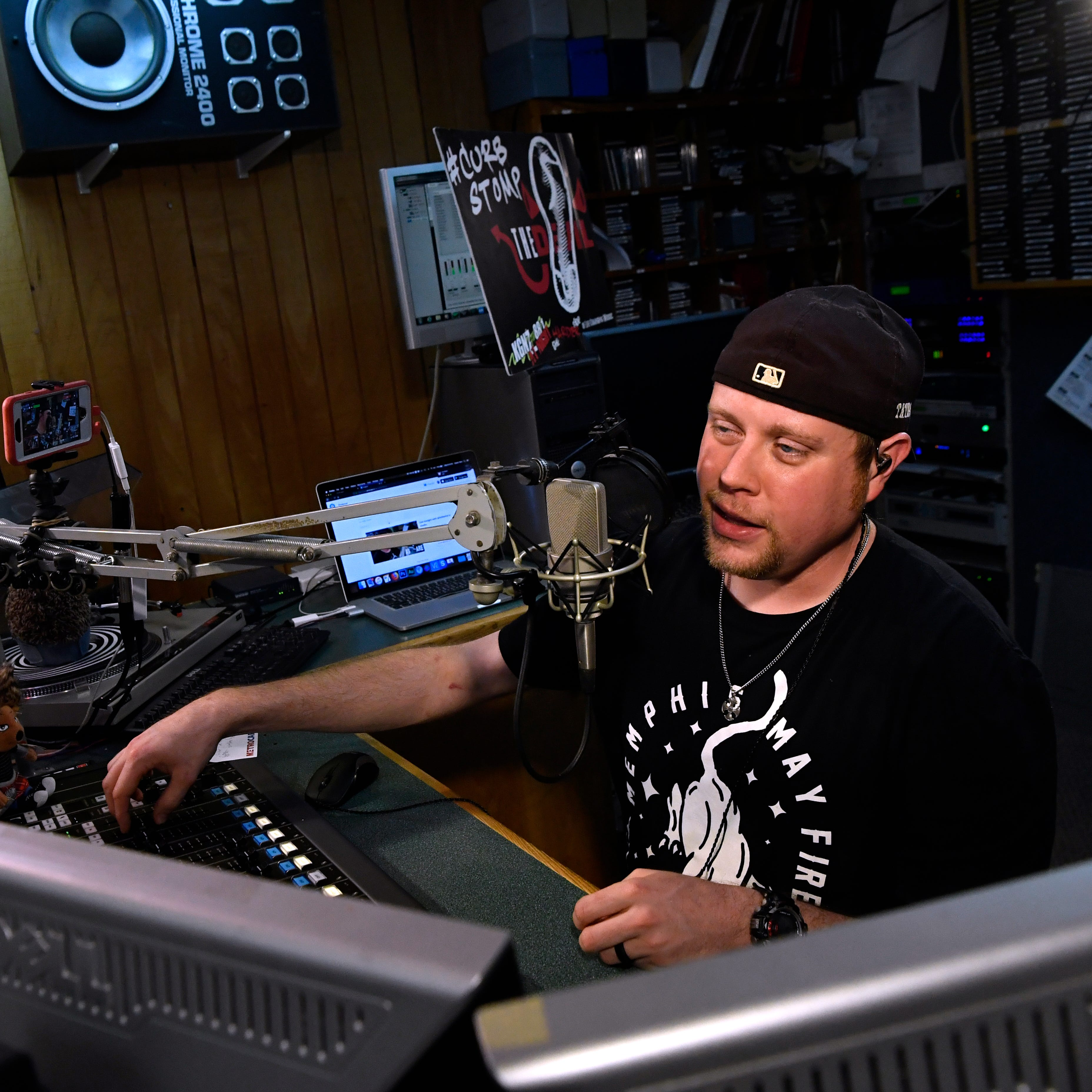 'This my church': Abilene man's ministry includes radio DJ shift