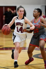 Asheville defeated Monroe 81-40 in the first round of playoffs Feb. 26, 2019 at Asheville High.