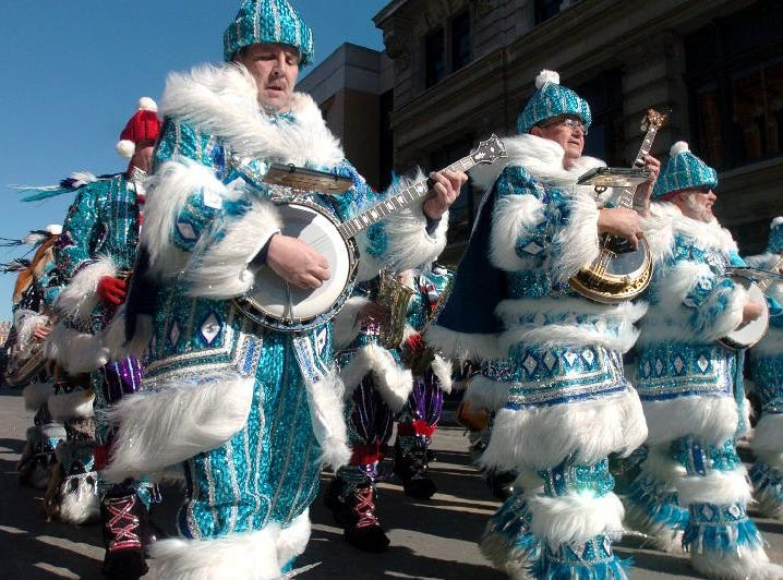 2005: The Avalon String Band came up from Philadelphia, Pa., to perform in the St. Patrick's Day parade Saturday in Binghamton.