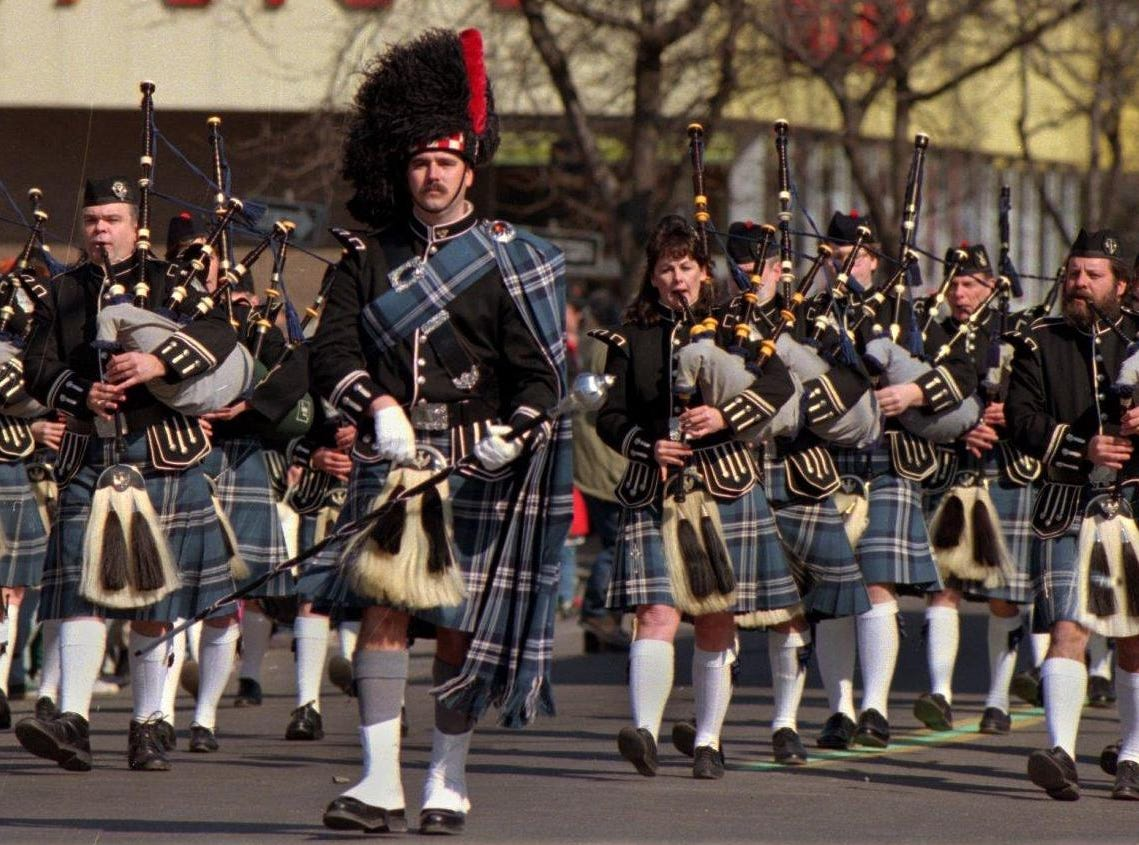 1996: File photo from the 1996 St. Patrick's Day Parade in Binghamton.