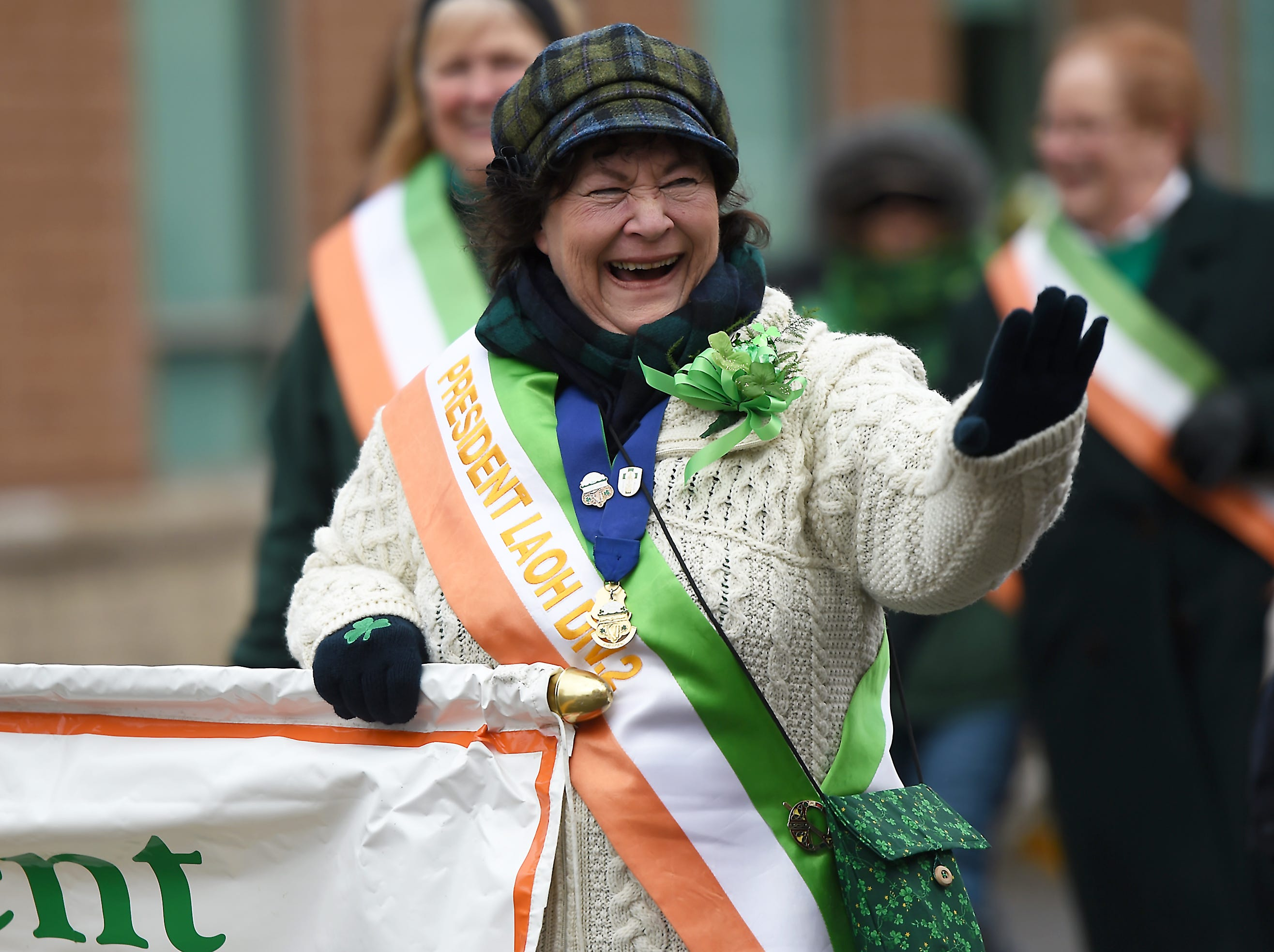 2018: The 51st annual St. Patrick's Day Parade in downtown Binghamton, March 3, 2018.
