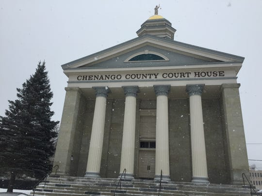 The Chenango County Courthouse on Feb. 27, 2019.