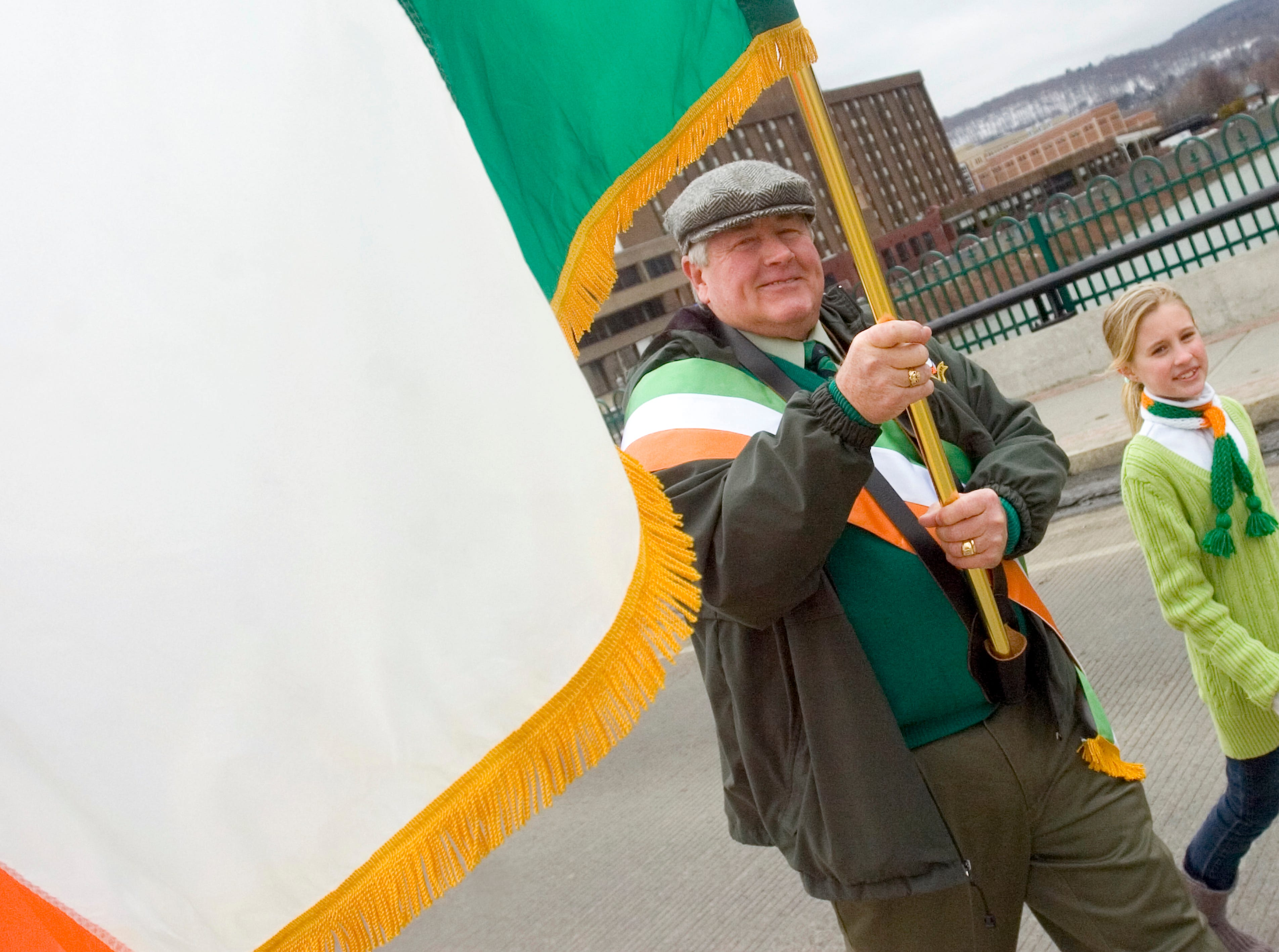 2011: The 44th annual St. Patrick's Day parade is held in downtown Binghamton on Saturday.