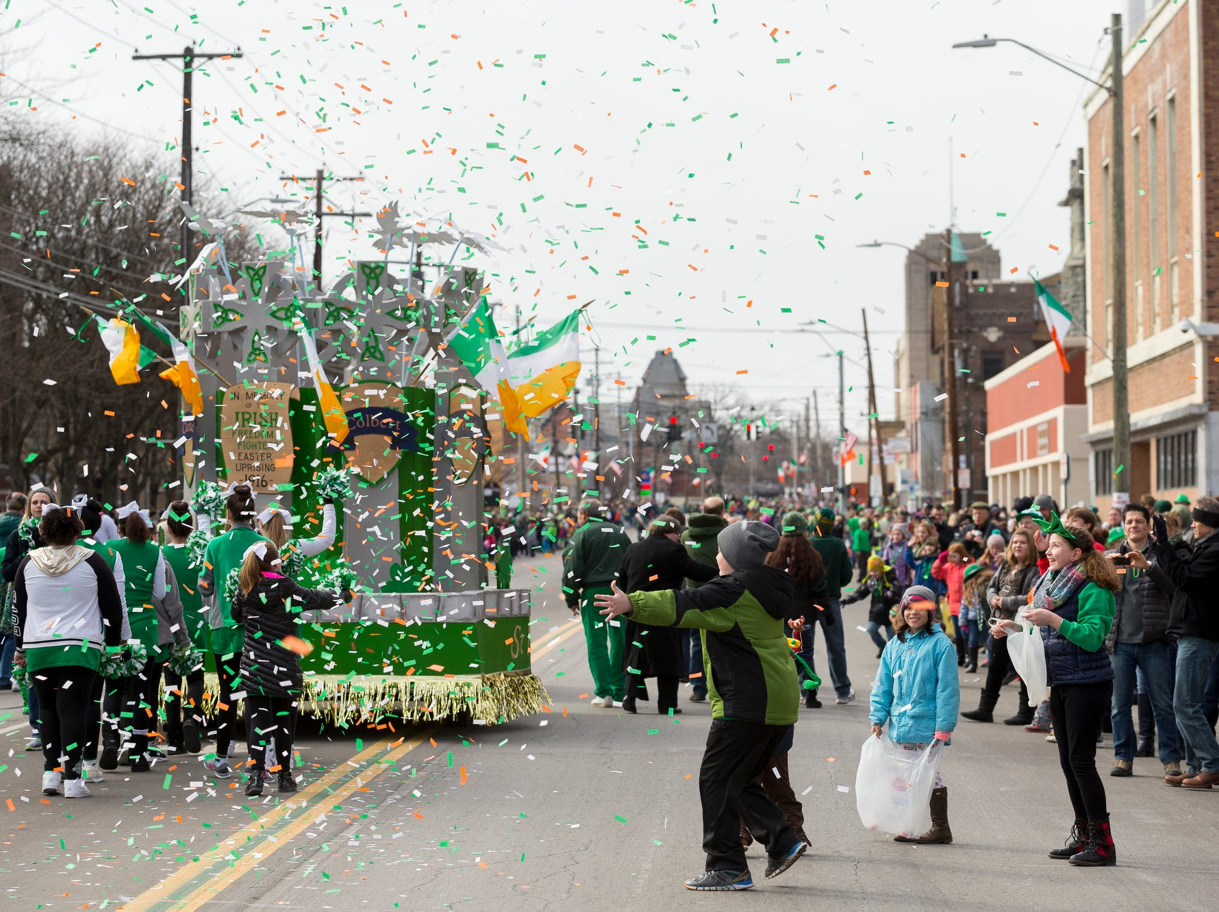 2016: The 49th annual St. Patrick's Day Parade on Saturday in Binghamton.