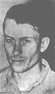 Herbert W. Forsythe at the time of his arrest in 1942.