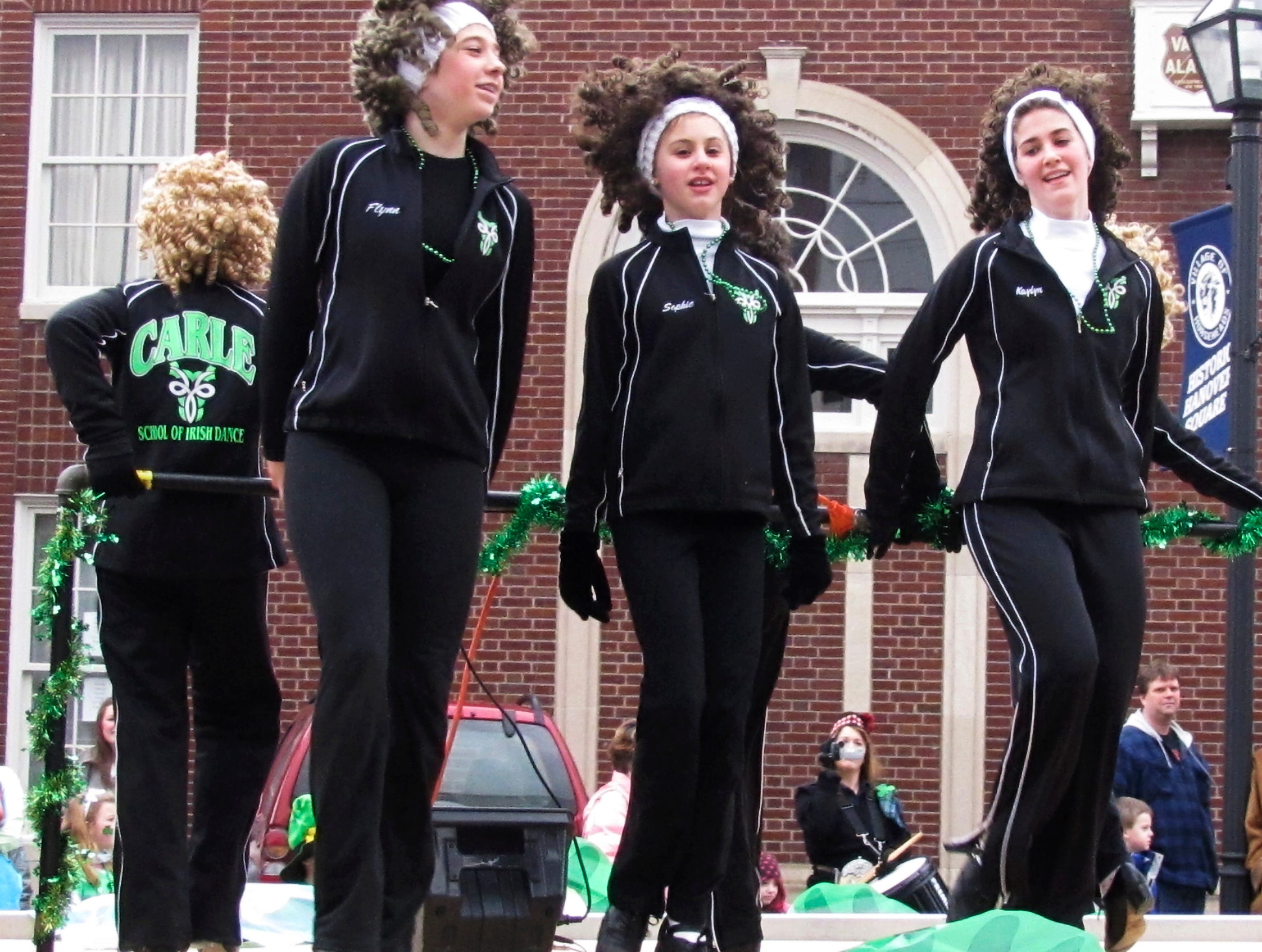 2011: Members of the Carle School of Irish Dance perform during Sunday's annual Horseheads St. Patrick's Day parade.
