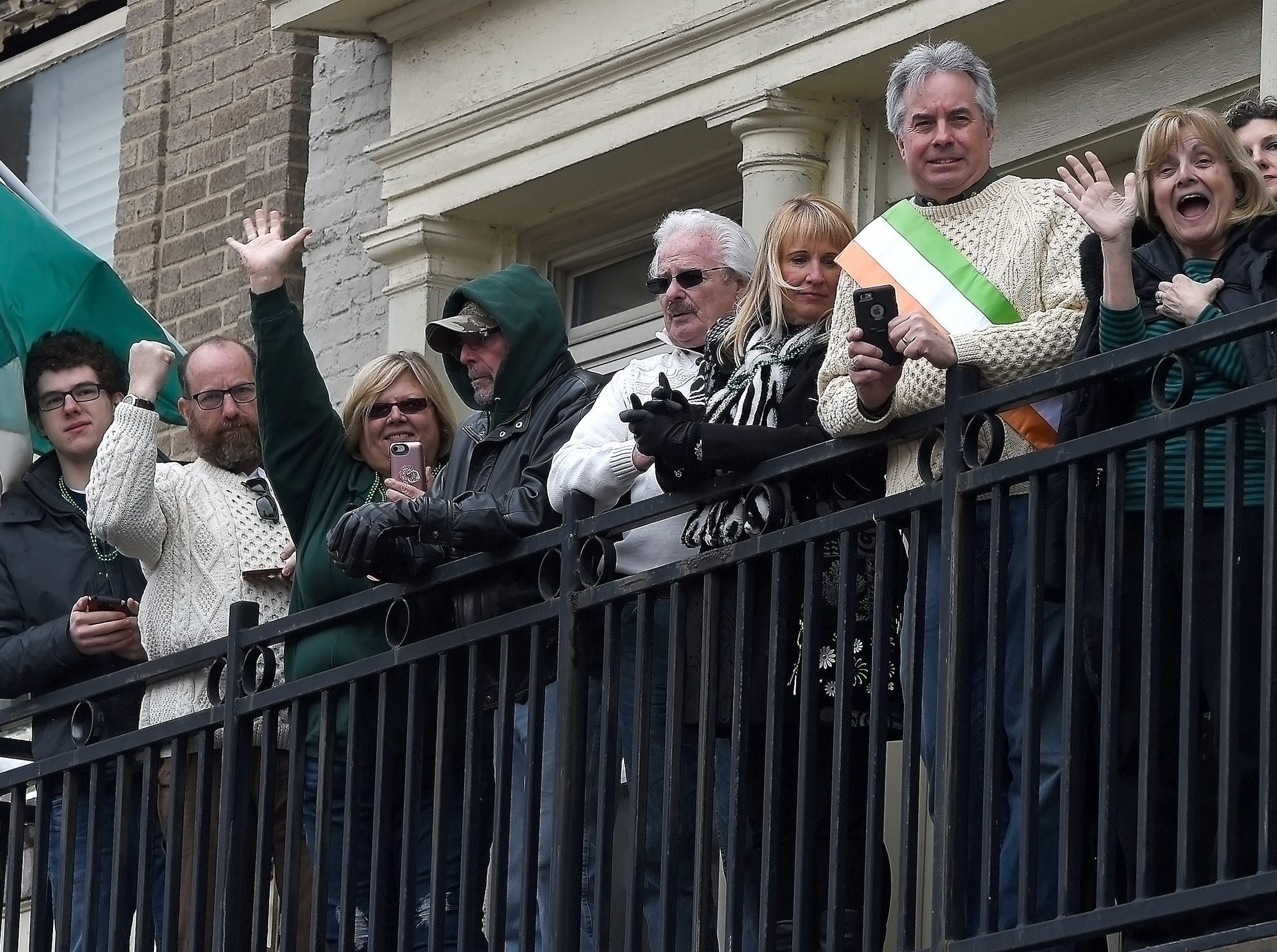 The 51st annual St. Patrick's Day Parade in downtown Binghamton, March 3, 2018.