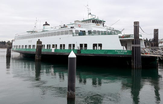 The Washington State Ferry Tillikum celebrated its 60th anniversary at the Eagle Harbor Maintenance Facility on Bainbridge Island on Wednesday. WSF officials say they hope to keep the ferry in service until money is appropriated and a new ferry can be built to join the fleet.