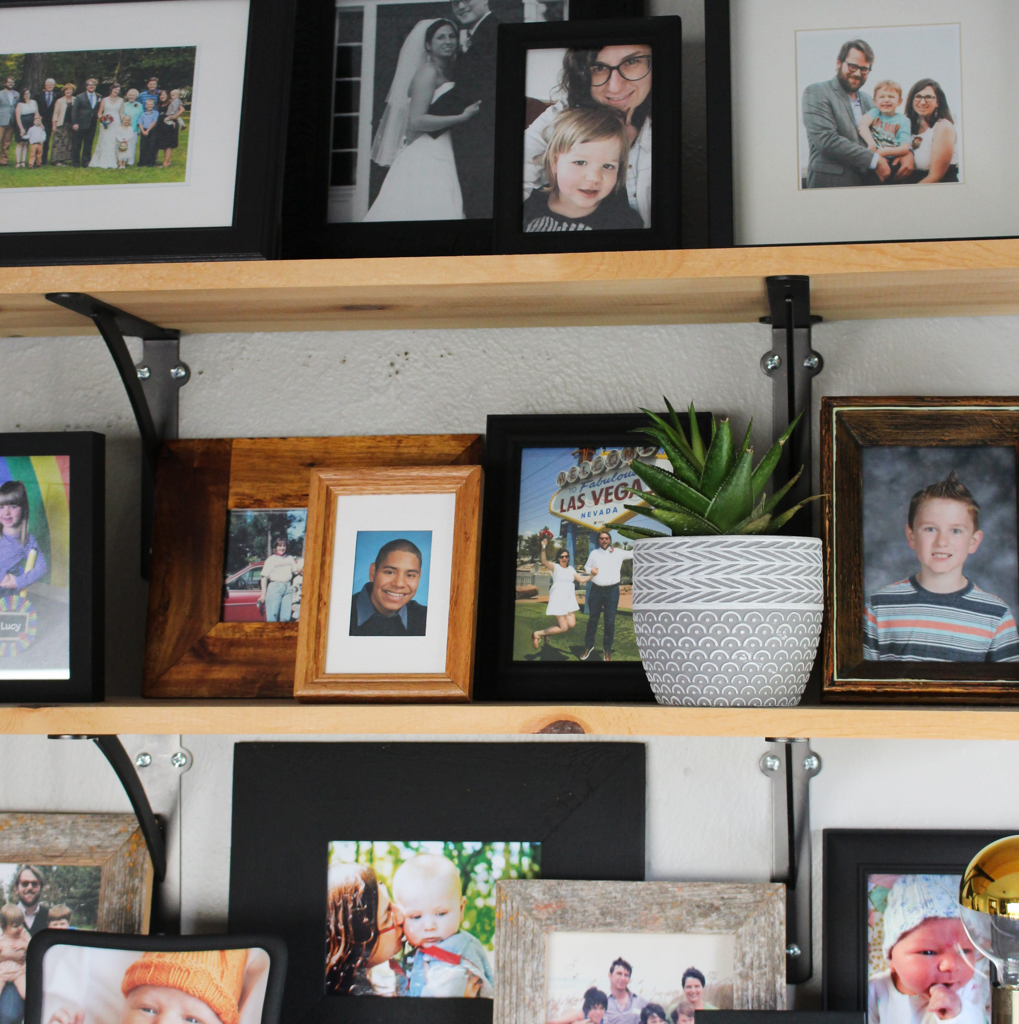 Photos abound. Here are some ideas for displaying them