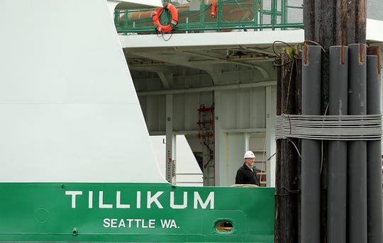 The Washington State Ferry Tillikum has slowly moved down the pecking order of vessels as larger, faster ferries join the fleet.