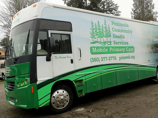 Peninsula Community Health rolls out mobile clinic