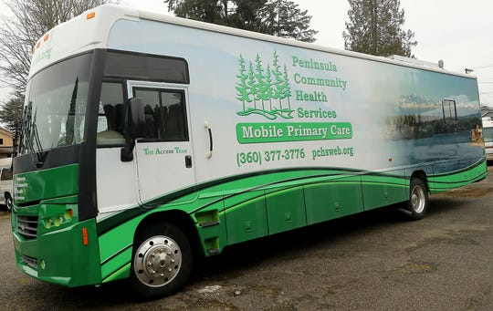 Peninsula Community Health's Mobile Primary Care gets on the road on Wednesday.