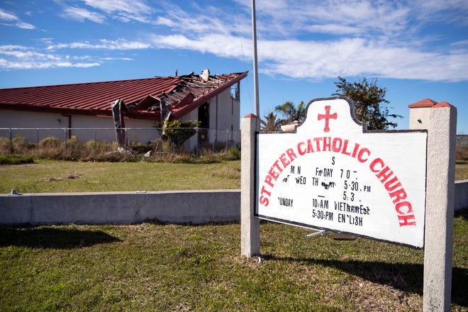 Nearly 18 months after Hurricane Harvey, St. Peter Catholic Church in Rockport is still decimated. The Diocese of Corpus Christi has requested help from FEMA. They have the highest requested costs in the Coastal Bend.