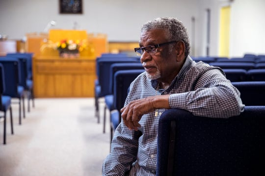 "St. Paul Missionary Baptist Church Pastor Charles McKnight, said a larger structure would house new ministries for the homeless, elderly and children instead of ""a building that was there for 40 years."" He said the church isn't asking for more money from FEMA, they are just asking that they be allowed to change the materials of the building and build larger."