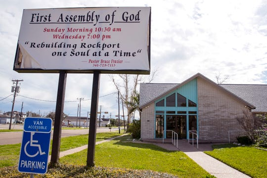First Assembly of God in Rockport had originally applied for FEMA funds, but they abandoned the process after a few months of being mired in paperwork, meetings and learning more about the requirements, said Pastor Bob Frazier.