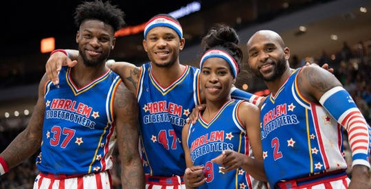The Harlem Globetrotters will play a weekend series from March 1-3 in Philly and Trenton.