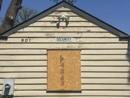 A former security building faces likely demolition at the Bancroft site in Haddonfield.