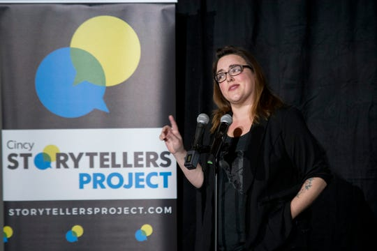 Christina Gorsuch shares how a group of animal lovers had to work together to save the life of a premature baby hippo who captured the hearts of millions during the Cincy Storytellers Project: Romance -- or Not at the Transept Tuesday, February 27, 2019 in Cincinnati, Ohio.