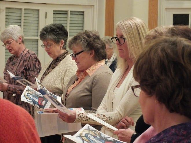 Jesuit Spiritual Center celebrates Ash Wednesday in 2018.