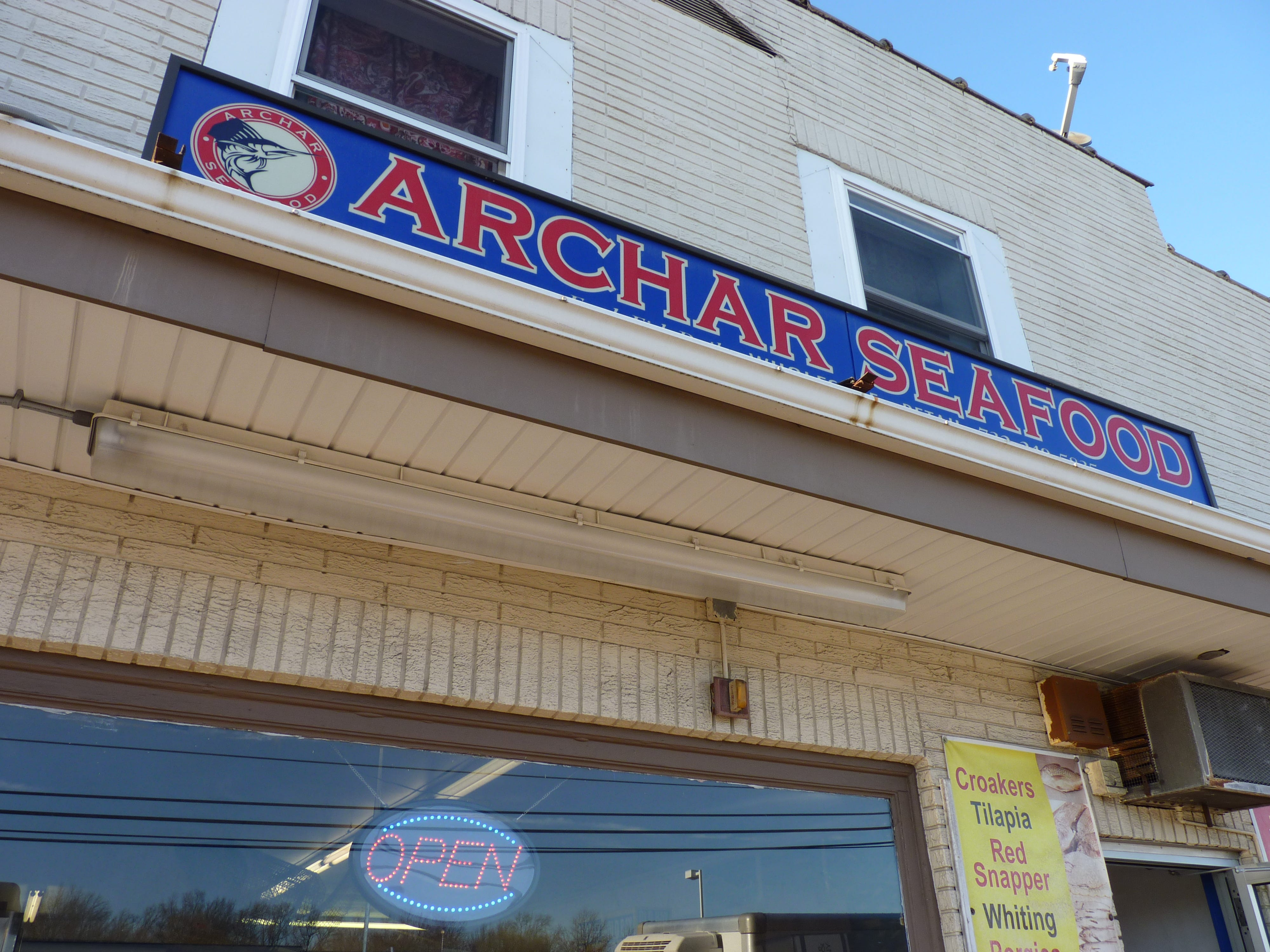 Archar Seafood in the Somerset Section of Franklin Township.