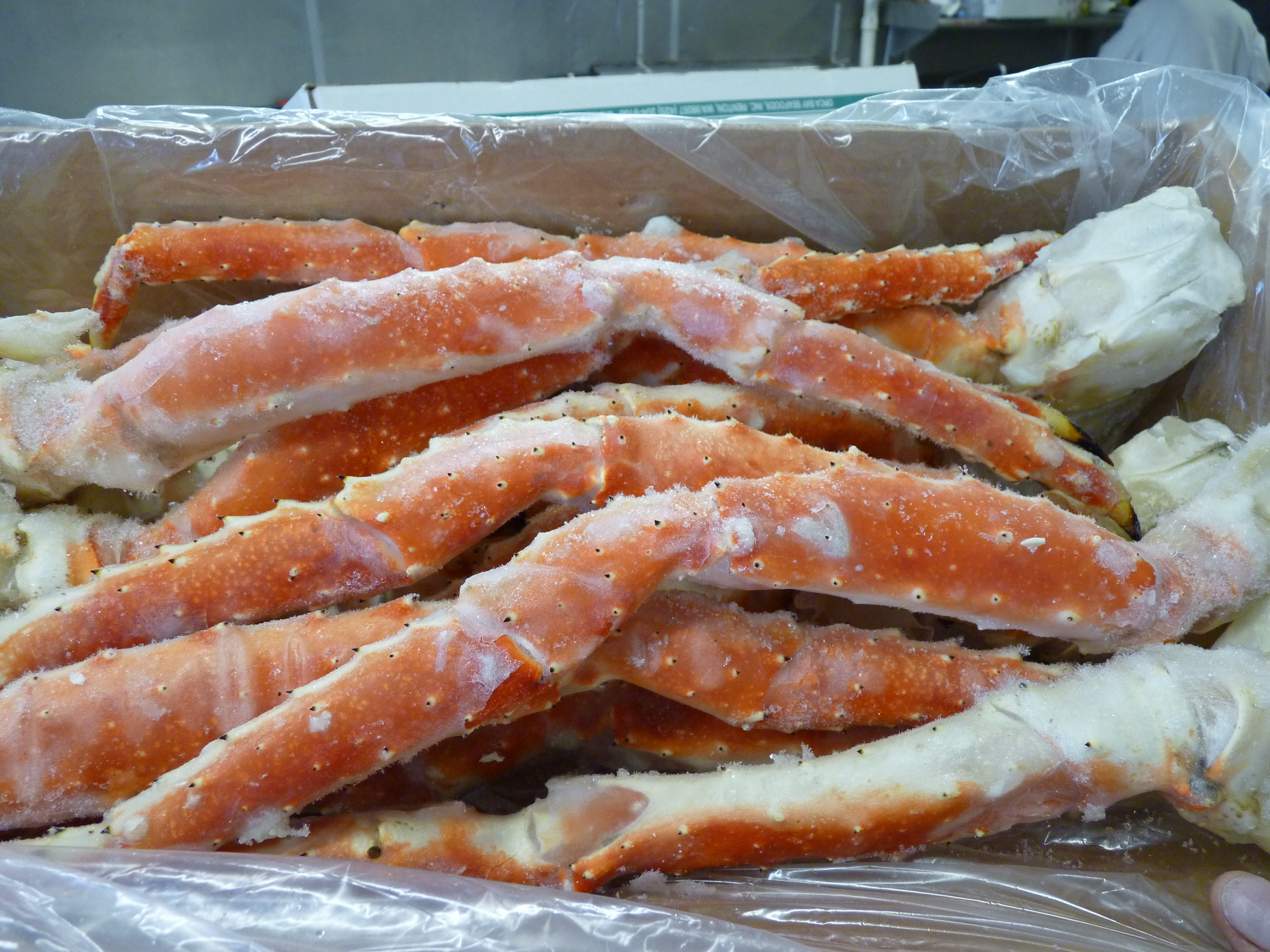 Fresh seafood and scenes from Archar Seafood in the Somerset Section of Franklin Township.