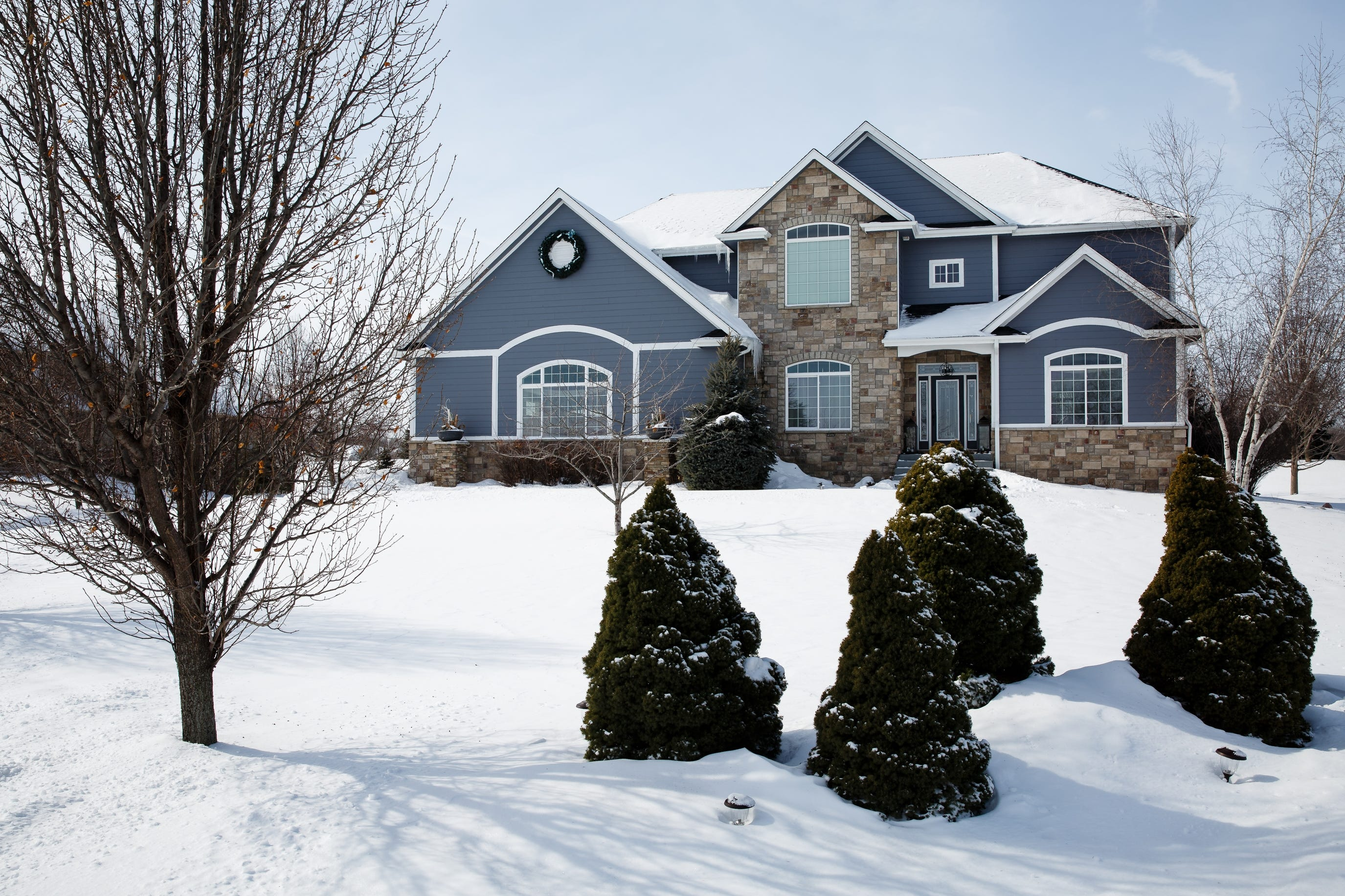 The home of Trina and Michael Mazza on Wednesday, Feb. 27, 2019 in Johnston. The couple ran an unregistered day care out of their home and Police found an unresponsive child at their home on February 15. The couple is also accused of taking the money from one of their mothers for months during the fall of 2018.