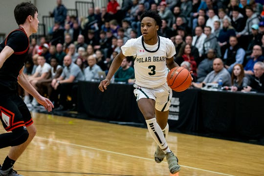 Tyreke Locure averaged 30.3 points and had 99 steals for 18-5 Des Moines North.