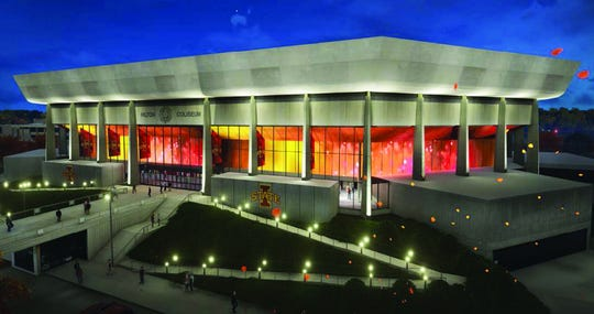 Iowa State released renderings Wednesday for some proposed renovations that could be coming to Hilton Coliseum.