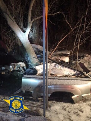MSP: Clarkston man killed in crash after car hits tree