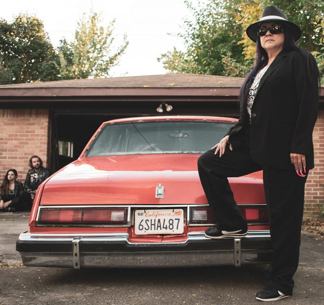 """Southwest Detroit native Debbie Sanchez is dubbed the """"Queen of the Lowriders."""" Sanchez will present her car in the first Lowrider Invitational in Autorama in Detroit."""