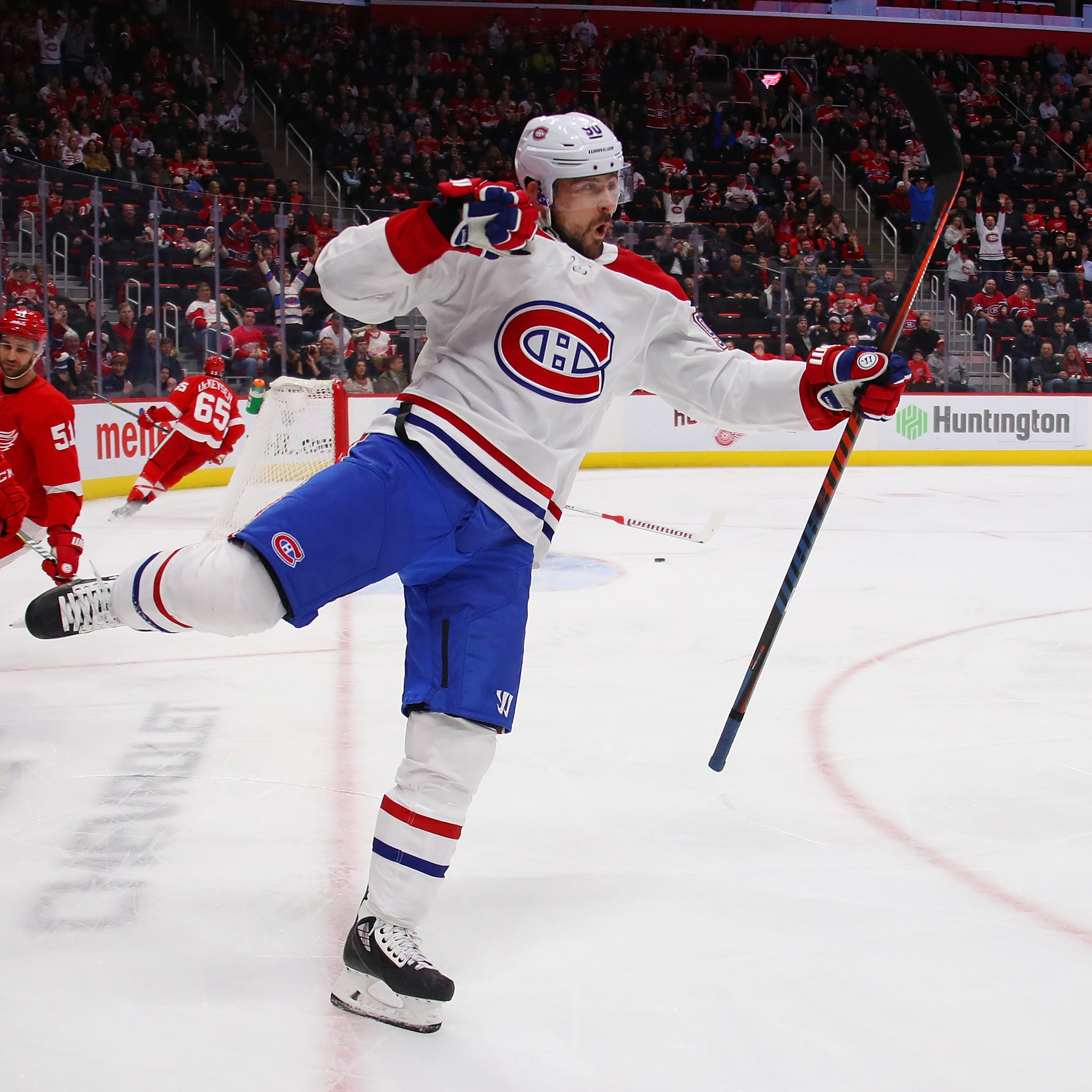 Detroit Red Wings embarrassed by Canadiens in 8-1 loss at home