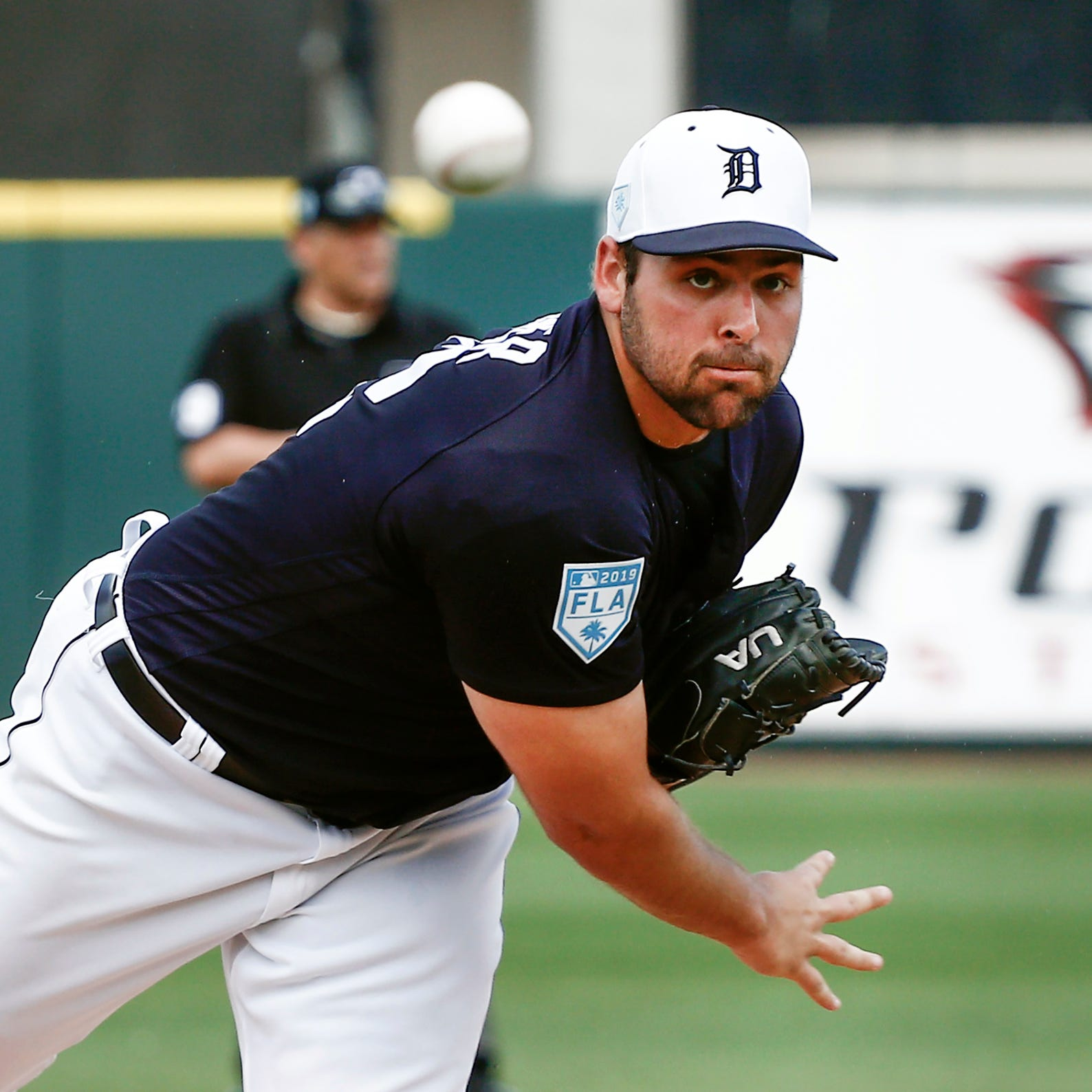 Tigers' Michael Fulmer pain-free, not worried about decreased velocity