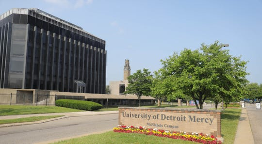 The University of Detroit Mercy campus in Detroit, Mich. Saturday, June 30, 2018.