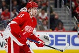 Wings prospect Filip Zadina is showing dimension to his game. Filmed March 9, 2019 in Tampa, Fla.