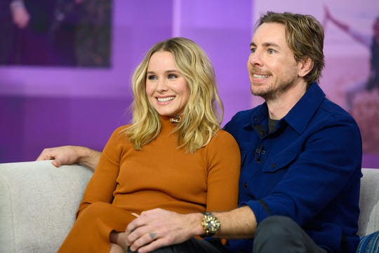 "Kristen Bell and Dax Shepard on the ""Today"" show on Monday, Feb. 25, 2019."