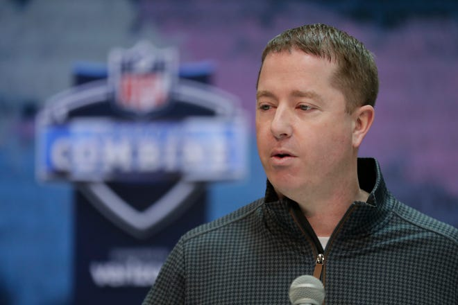 Lions general manager Bob Quinn