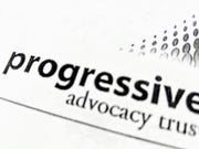 A logo for Progressive Advocacy Trust from a donor pitch letter obtained by The Detroit News.